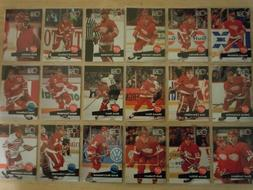 1991-92 Pro Set DETROIT RED WINGS Team Set - 29 Cards - LIDS