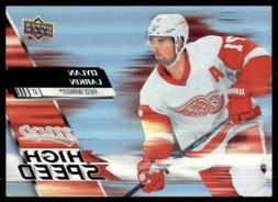 2020-21 UD MVP High Speed #HS-13 Dylan Larkin - Detroit Red