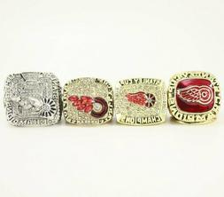 A Set 1997 1998 2002 2008 Detroit Red Wings Stanley Cup Cham