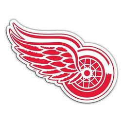 Detroit Red Wings 12 Inch Car Magnet  NHL Decal Emblem Truck