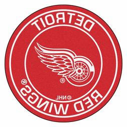 detroit red wings 27 roundel area rug
