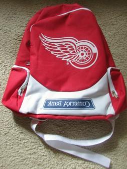 Detroit Red Wings Back Pack Book Bag