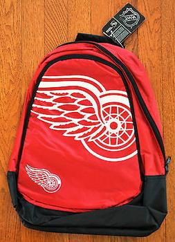 Detroit Red Wings BackPack / Back Pack Book Bag NEW NHL - TE