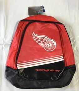 Detroit Red Wings BackPack / Back Pack Book Bag NEW - TEAM C