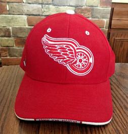DETROIT RED WINGS BALL CAP L/XL ADJUSTABLE NEW WITH TAGS ZEP