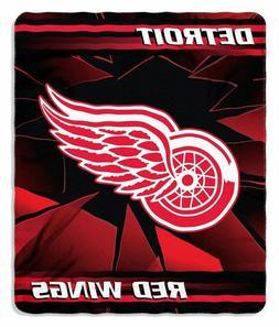 """Detroit Red Wings """"ICE"""" 50"""" X 60"""" Fleece Blanket"""