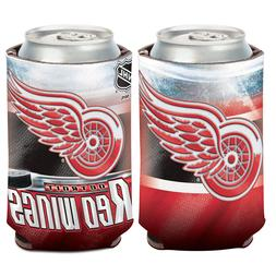 detroit red wings can cooler 12 oz