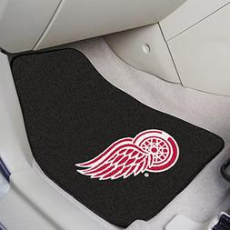 Detroit Red Wings Car Auto Floor Mats Front Seat