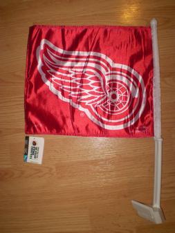 DETROIT RED WINGS Car Flag NHL Hockey BRAND NEW Show Team Su