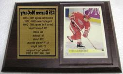 Detroit Red Wings Darren McCarty Hockey Card Plaque