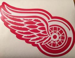 detroit red wings decal 7 5x10 2