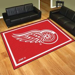Detroit Red Wings 8' X 10' Decorative Ultra Plush Carpet Are