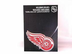 Detroit Red Wings Die Cut Color Auto Emblem  IN STOCK!!