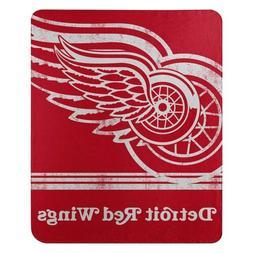 Detroit Red Wings FADE AWAY Large Lightweight 50x60 Fleece T