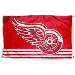 detroit red wings flag banner