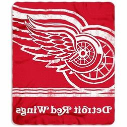 Detroit Red Wings Fleece Throw 50  x 60