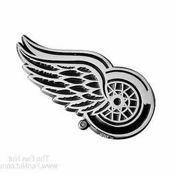 Detroit Red Wings FM Premium Metal Chrome Auto Emblem NHL Ho