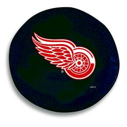 Detroit Red Wings HBS Black Vinyl Fitted Spare Car Tire Cove