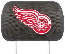 Detroit Red Wings Head Rest Cover - Set of 2