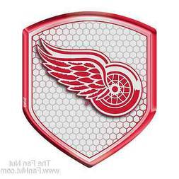 Detroit Red Wings Hi-Intensity SHIELD Reflector Emblem Decal