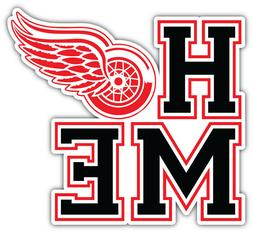 Detroit Red Wings Home NHL Sport Car Bumper Sticker Decal -