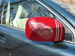 Detroit Red Wings NHL Car/Truck Mirror Covers - Size: Small