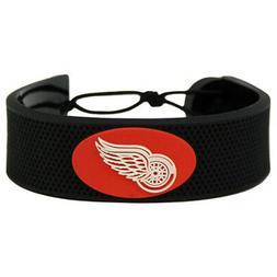 Detroit Red Wings NHL Classic Hockey Puck Bracelet Free Ship