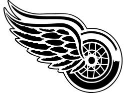 """Detroit Red Wings NHL Decal """"Sticker"""" for Car or Truck or La"""