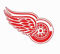 Detroit Red Wings NHL Hockey Full Color Logo Sports Decal St