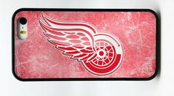 DETROIT RED WINGS NHL HOCKEY PHONE CASE FOR iPHONE X 7 8 6S