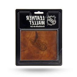 Detroit Red Wings Official NHL Leather Billfold Wallet