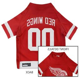 Detroit Red Wings NHL Pets First Licensed Dog Pet Hockey Jer
