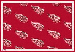 Detroit Red Wings Milliken NHL Team Repeat Indoor Area Rug