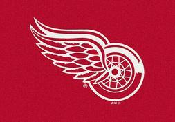 Detroit Red Wings NHL Team Spirit Area Rug Milliken