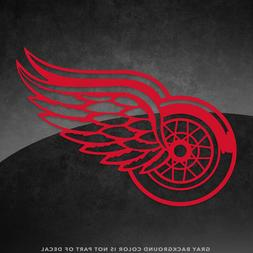 """Detroit Red Wings NHL Vinyl Decal Sticker - 4"""" and Larger -"""