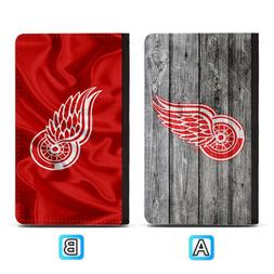 Detroit Red Wings Passport Holder Travel PU Leather Cover Ca