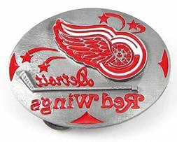 Siskiyou Detroit Red Wings Pewter Belt Buckle