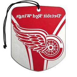 Detroit Red Wings Shield Design Air Freshener 2 Pack  NHL Fr
