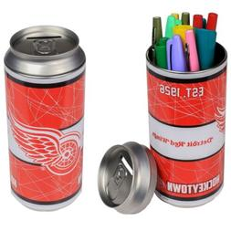 Detroit Red Wings Soda Can Coin Bank / Pen or Pencil Holder