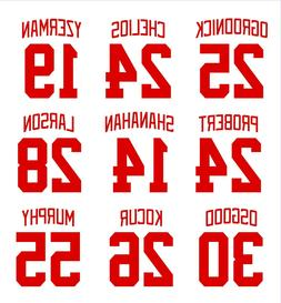 Detroit Red Wings STICKER DECAL Yzerman Shanahan Ogrodnick L