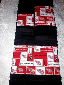 detroit red wings towel set includes bath