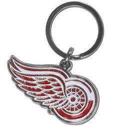 Detroit Redwings NHL Chrome Keychain