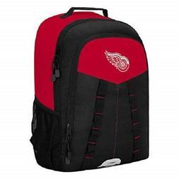 Detroit Redwings Scorcher Backpack NHL Hockey Fan Gym Sports