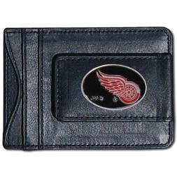 Siskiyou Sports HLMC110 Red Wings Leather Cash & Cardholder