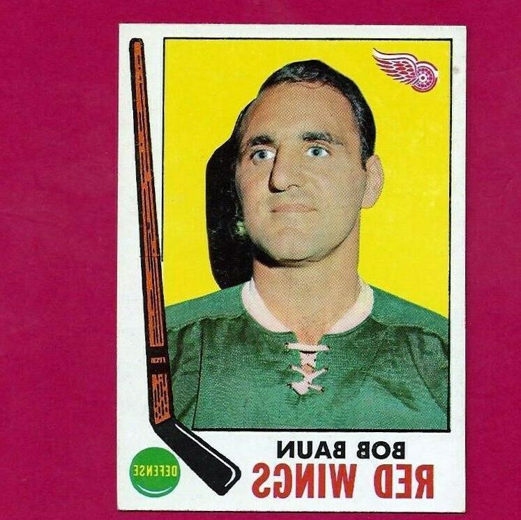 1969 70 topps 57 bob baun detroit