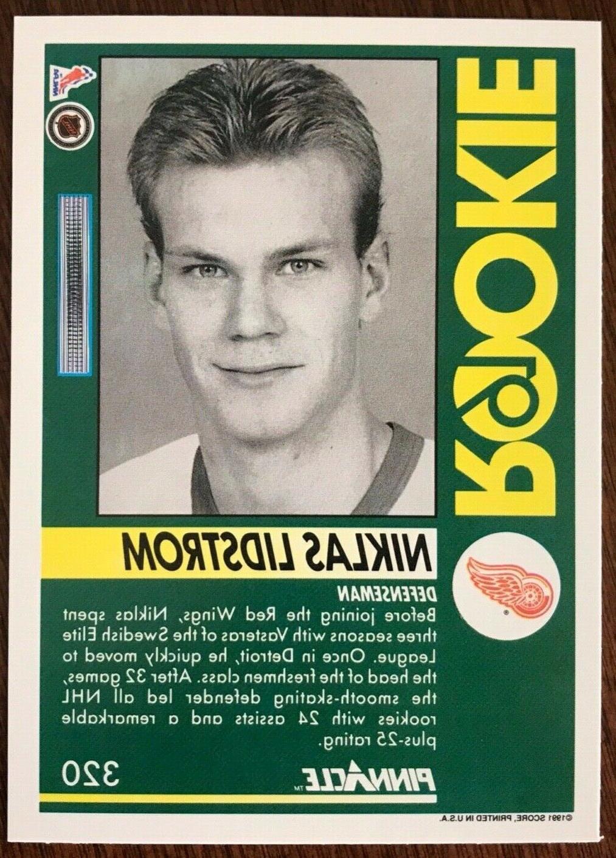 1991-92 LIDSTROM ROOKIE CARD!