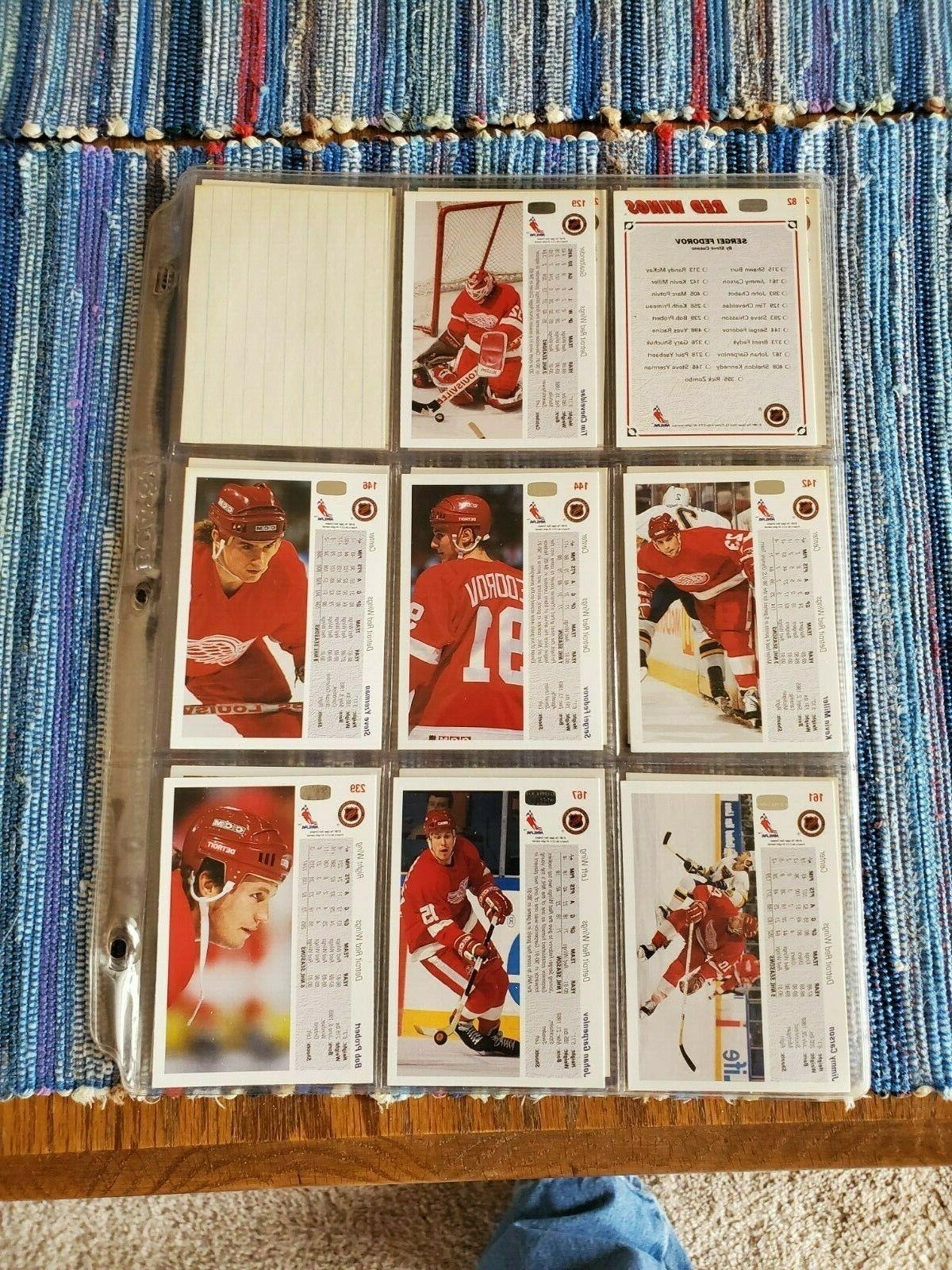 1991-92 Upper Wings cards Mint in sleeves