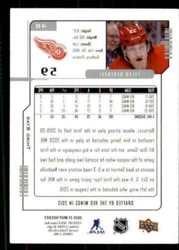 2020-21 Anniversary Star Tyler Bertuzzi Detroit Wings