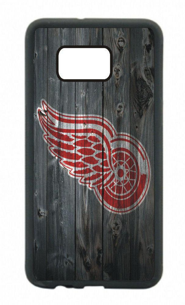 Detroit Red Wings Phone Case For Samsung Galaxy S10 S9 S8 S7