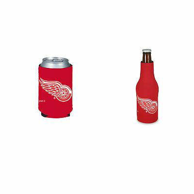bundle 2 items detroit red wings bottle